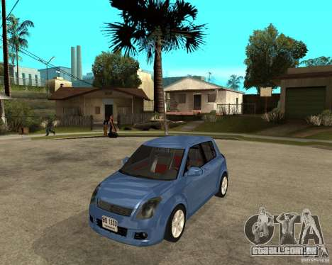 2007 Suzuki Swift para GTA San Andreas