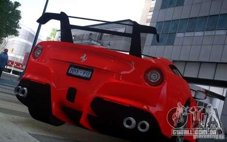 Ferrari F12 Berlinetta 2013 Knoxville Edition para GTA 4 traseira esquerda vista