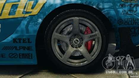 Mazda RX-7 RE-Amemiya para GTA 4 vista lateral