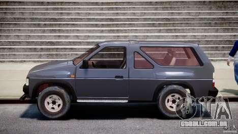 Nissan Terrano para GTA 4 esquerda vista