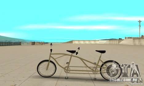 double classic MT Bike para GTA San Andreas esquerda vista