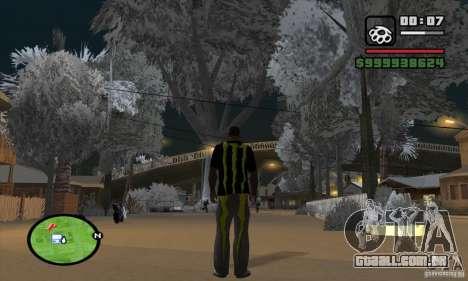 Monster energy suit pack para GTA San Andreas segunda tela