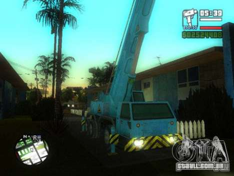Split Second - Static Truck para GTA San Andreas