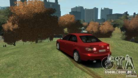 Mazda 6 MPS para GTA 4 esquerda vista