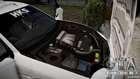 Mitsubishi 3000GT ST para GTA 4 vista de volta