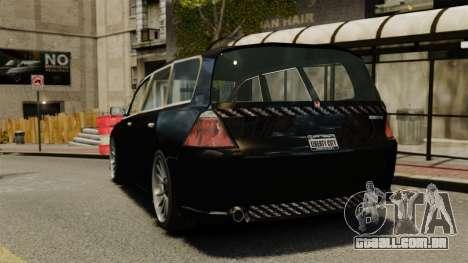 Honda Odyssey para GTA 4 traseira esquerda vista