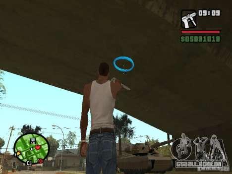 Portal Gun para GTA San Andreas segunda tela