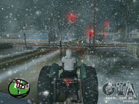 Queda de neve para GTA San Andreas