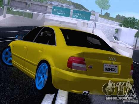 Audi S4 DatShark 2000 para GTA San Andreas esquerda vista