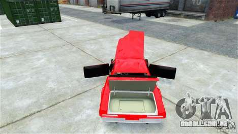 Jupiter Eagleray MK5 v.1 para GTA 4 vista superior