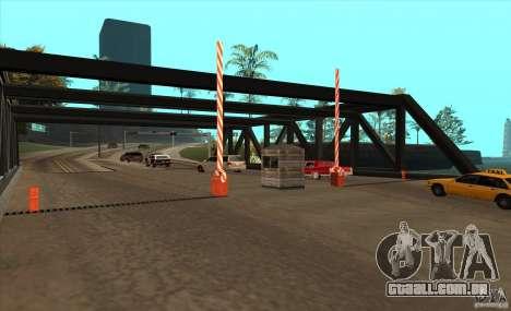 Rota v 1.0 para GTA San Andreas terceira tela