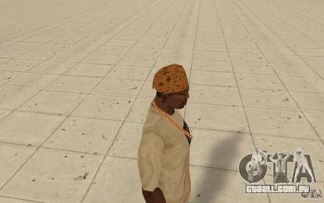 Bandana maryshuana para GTA San Andreas segunda tela