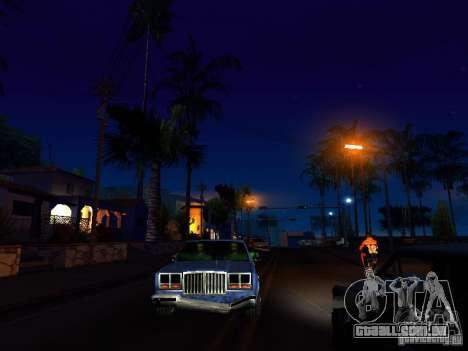 Gráficos das versões do console para GTA San Andreas por diante tela