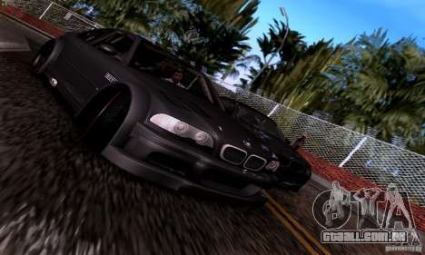 BMW M3 GTR v2.0 para vista lateral GTA San Andreas