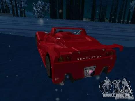 Lada Revolution para GTA San Andreas vista direita