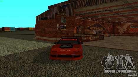 Nissan 240SX Signal Auto para GTA San Andreas traseira esquerda vista