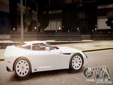 Alfa Romeo TZ3 Stradale Zagato para GTA 4 vista interior