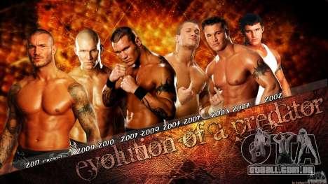 Telas de carregamento WWE 2012 para GTA San Andreas