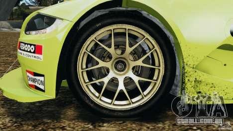 BMW Z4 M Coupe Motorsport para GTA 4 vista de volta