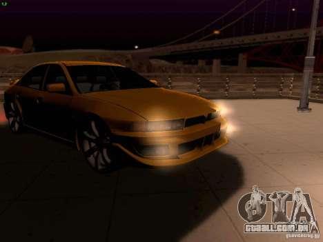 Mitsubishi Galant 2002 para vista lateral GTA San Andreas