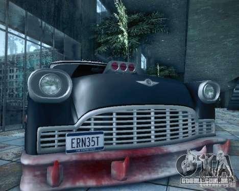 Diablo Cabbie HD para vista lateral GTA San Andreas