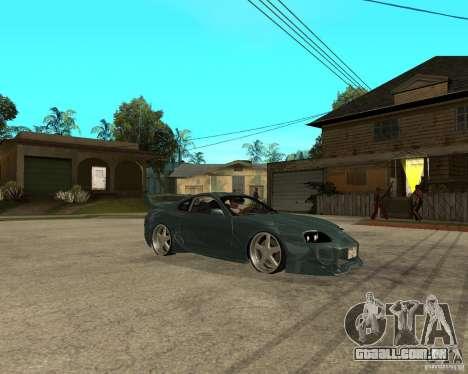 Toyota Supra Veilside para GTA San Andreas vista direita