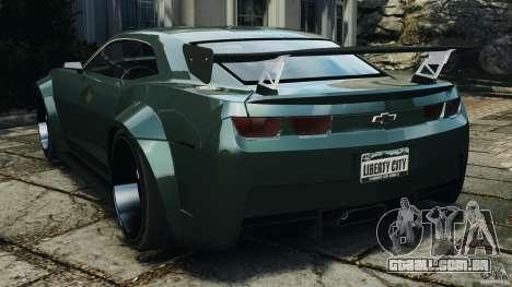 Chevrolet Camaro SS EmreAKIN Edition para GTA 4 traseira esquerda vista