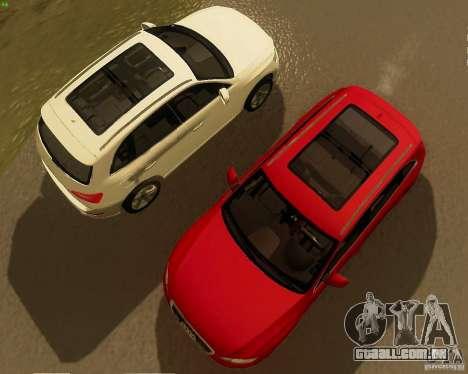 Audi Q5 para GTA San Andreas traseira esquerda vista
