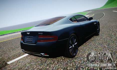 Aston Martin DB9 2005 V 1.5 para GTA 4 vista inferior