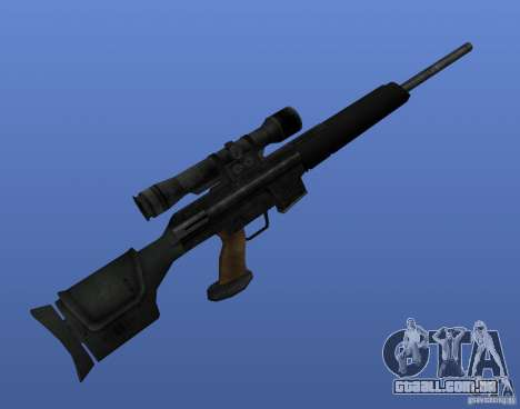 Weapon Textures para GTA 4 twelth tela