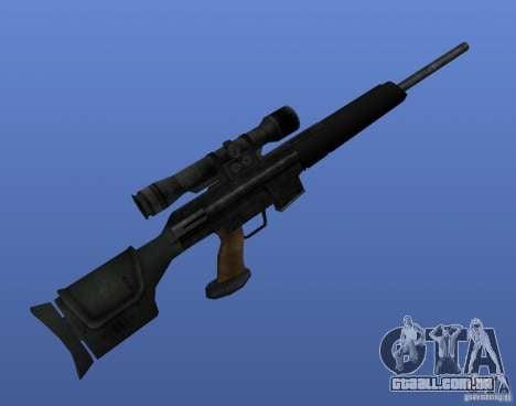 Weapon Textures para GTA 4 twelth tela