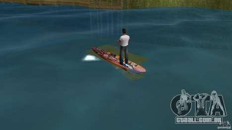 Surfboard 1 para GTA Vice City vista traseira esquerda