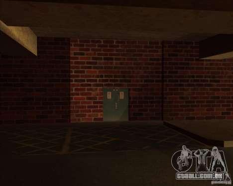 Polícia de garagem novo LSPD para GTA San Andreas