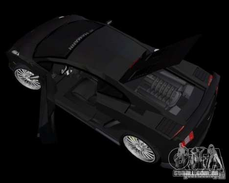 Lamborghini Gallardo Hamann Tuning para GTA Vice City vista traseira esquerda