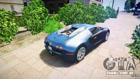 Bugatti Veyron 16.4 v3.0 2005 [EPM] Strasbourg para GTA 4 esquerda vista