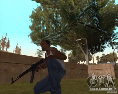 Mp43 (stg44) from wolfenstein para GTA San Andreas segunda tela