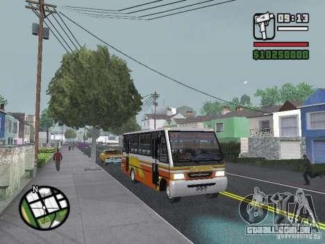 Ciferal Agilis M.Benz LO-814 BY GTABUSCL para vista lateral GTA San Andreas