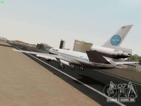 McDonell Douglas DC-10-30 PanAmerican Airways para GTA San Andreas