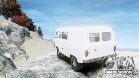 UAZ 3909 para GTA 4 vista direita