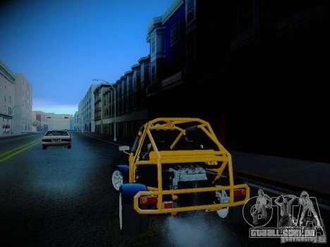 Buggy From Crash Rime 2 para GTA San Andreas esquerda vista