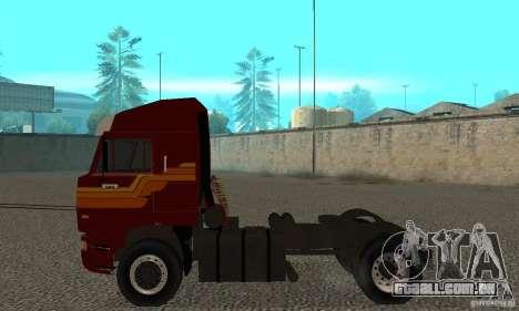 KAMAZ 5460 pele 2 para GTA San Andreas traseira esquerda vista