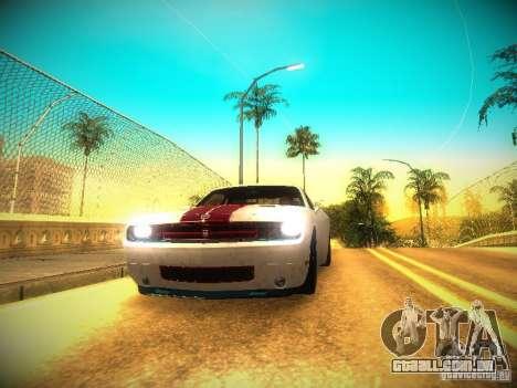 ENBSeries for medium PC para GTA San Andreas por diante tela