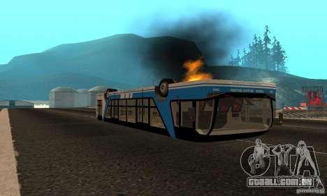Design X XAPGL para GTA San Andreas vista traseira