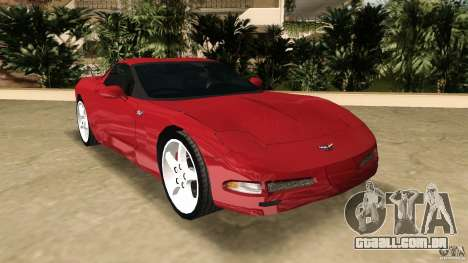 Chevrolet Corvette Z05 para GTA Vice City