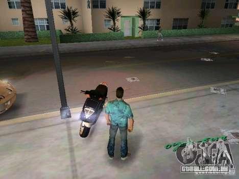 PIAGGIO NRG MC3 para GTA Vice City vista traseira