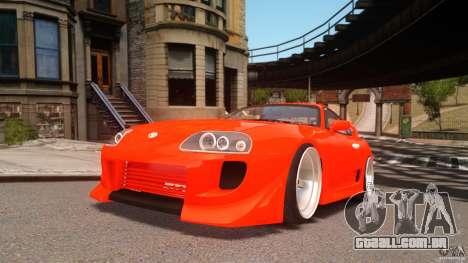 Toyota Supra Tuning para GTA 4