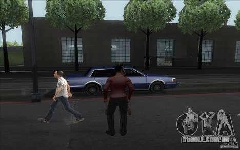 Pimp para GTA San Andreas por diante tela