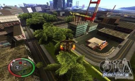 NEW STREET SF MOD para GTA San Andreas oitavo tela