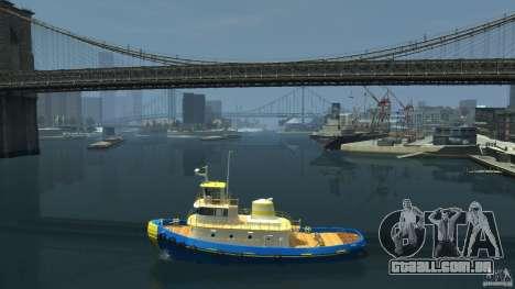 New Tug Texture v.2 para GTA 4 esquerda vista