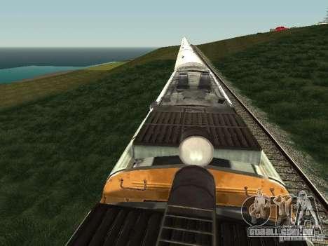 2TE10U-0137 para GTA San Andreas vista traseira